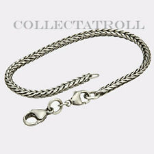 Authentic Trollbead Bracelet With Lock 5.9 Trollbead