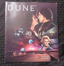 1984 DUNE Movie Figurine Panini Sticker Book FN+ David Lynch/only 5 stickers