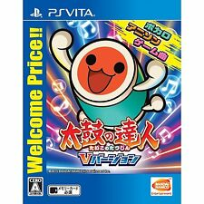 Taiko no Tatsujin V Version (Welcome Price!!) PS Vita SONY JAPANESE NEW JAPANZON