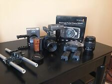 Used Blackmagic Pocket Cinema Camera w/ CAGE,SPEEDBOOSTER,CANON LENS+more