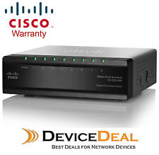 Cisco SG 200-08P 8-Port Gigabit Smart Switch 4 PoE Ports 32 Watts SLM2008PT