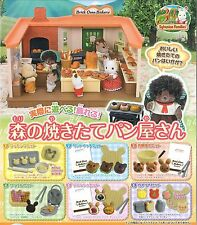 Epoch Sylvanian Families Mori no Yakitate Panya-san Bakery Bread # full set of 6