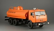 Cars on service. KAMAZ-53215. Gasoline tank truck. Diecast model scale 1/43