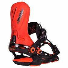 2017 NIB ROME D.O.D SNOWBOARD BINDINGS L/XL Orange do or die