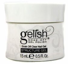 Gelish 0.5-Fluid Ounce Soak-Off Clear Curable Structure Gel For LED Lamp   01247