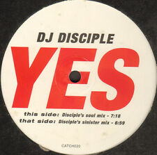 DJ DISCIPLE - Yes - Catch 22
