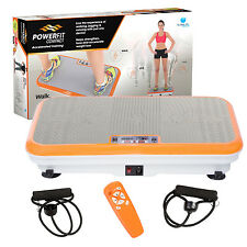 Power Fit Platform Fitness Plate - Full Body Vibration Machine - Exercise Workou