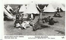 Military Postcard - Island Militaria - 1st Fusiliers - After Battle  F665