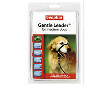 Beaphar Gentle Leader For Medium Dogs Red Halter like Control Collar