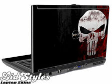 LidStyles PUNISHER SKULL Laptop Skin Decal fits Dell Latitude D620 D630 Series