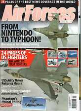 Air Forces Monthly 2008 December Phantom,USS Kittyhawk,Mig-21,Eurofighter