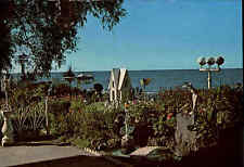 Rochester New York Postkarte ~1960/70 Crescent Beach Hotel Lake Front Gardens