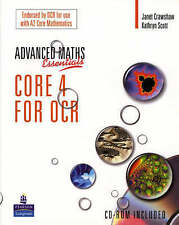 Level Maths Essentials Core 4 for OCR Book and CDROM by Crawshaw Janet