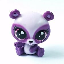 Littlest Pet Shop animal LPS purple Panda Bear Pet in the City figure toy HA29
