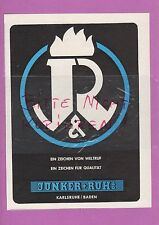 KARLSRUHE, Werbung 1951, Junker & Ruh AG Herd