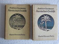 Gottfried Speckmann  Aus meiner Seekiste  Martin Warneck 1920