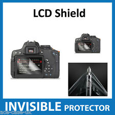 Canon EOS 750D, Rebel T6i, Kiss X8i Dslr INVISIBLE LCD Screen Protector Shield