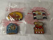 Mcdonald's Collectible Pins - Collector's Club Member - 2001, 2002, 2003, 2004