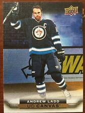 2015/16 UD Hockey Series 2 Andrew Ladd  Insert UD Canvas #C207