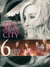 COFFRET 5 DVD--SERIE TV--SEX AND THE CITY - INTEGRALE SAISON 6 - 20 EPISODES