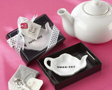 Swee-Tea Ceramic Tea Bag Caddy Bridal Shower Wedding Favor