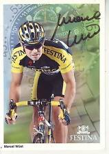 CYCLISME carte cycliste MARCEL WUST équipe FESTINA signée