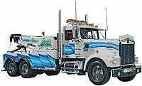 Revell Kenworth W-900 Wrecker, Big Rig Tow Truck 1/25 Scale Model truck Kit