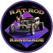 Hot Rod Rat Rod Renegade Metal Sign Man Cave Garage Shop Club Grossman LG221