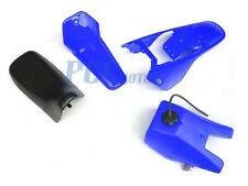 Yamaha PW80 PW 80 TANK SEAT PLASTIC FENDER FAIRING KIT BLUE M PS51