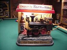 Pabst Blue Ribbin Vintage advertising Train VINTAGE