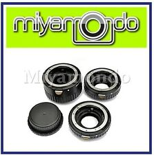 3 Ring Auto Focus MACRO Extension Tube Set for Nikon