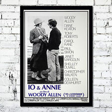 Movie Poster Io & Annie Woody Allen - 35X50 CM