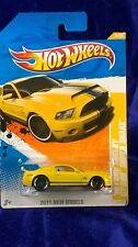 Hot Wheels '10 Ford Shelby GT-500 Supersnake Yellow 2011 New Models Free Ship