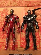 "Avengers War Machine Figure Iron Man Hasbro Marvel Legends Civil War 6"" Lot"
