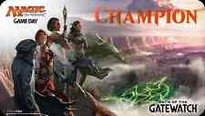 Magic The Gathering OATH OF THE GATEWATCH Game Day Playmat New Mat MTG Champion
