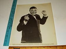 Rare Original VTG 1961 Columbia Pictures Chubby Checker Dancing Pose Photo