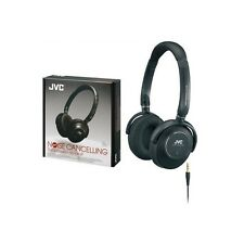 JVC HA-NC250 Foldable Noise Cancelling Headphones Earphones With Case HANC250