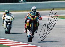 David Salom main signé Kawasaki 7x5 photo wsbk 4.