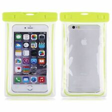 Color Waterproof Underwater Pouch Bag Pack Case Cellphone iPhone SE 5s 6 6s Plus