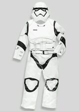 BNWT Boys Star Wars storm trooper padded Boys Fancy Dress Party Costume 5-6 yrs