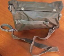 Original swiss military gas mask SM-74 canvas carrying Bag Hard cover