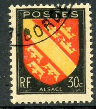 STAMP / TIMBRE FRANCE OBLITERE N° 756 BLASONS ARMOIRIE ALSACE