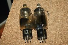 PAIR ( QTY 2 ) 3B24 RCA VINTAGE TUBES - BOTH TESTED STRONG