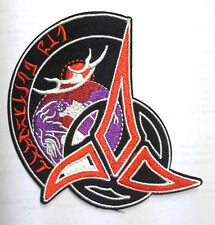"Star Trek Klingon Tri-Foil Brotherhood  4"" Uniform Patch-FREE S&H(STPAT-KL-1)"