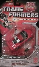 TRANSFORMERS UNIVERSE CLASSICS DELUXE AUTOBOT SIDESWIPE - UNOPENED ON CARD - WOW