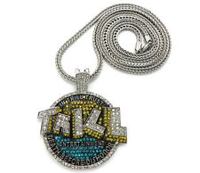 NEW ICED OUT LIL'BOOSIE'S TRILL PIECE & FRANCO CHAIN.