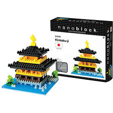 Nanoblock Kinkaku-Ji Construction toy Micro Sized Blocks Nano Blocks