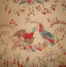 RARE BEAUTIFUL 18th CENTURY FRENCH TOILE DE JOUY NANTES c1790s 3.