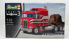 Revell 07671 Kenworth Aerodyne Truck New Plastic Model Kit 1/32
