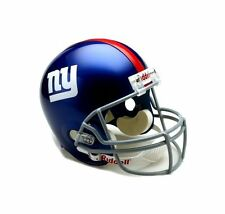New York Giants NFL Team Logo Riddell Deluxe Full Size Football Helmet